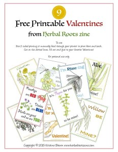 herbal valentines cover