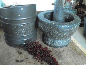 Ready to grind some Sumac berries