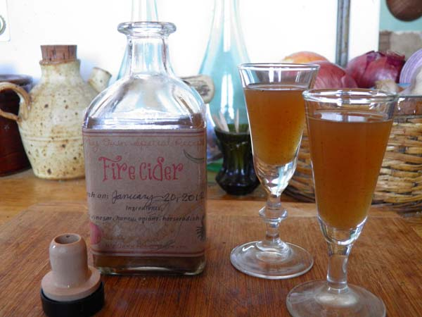 A Toast to Fire Cider