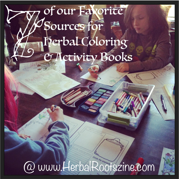 our favorite coloring and activities books